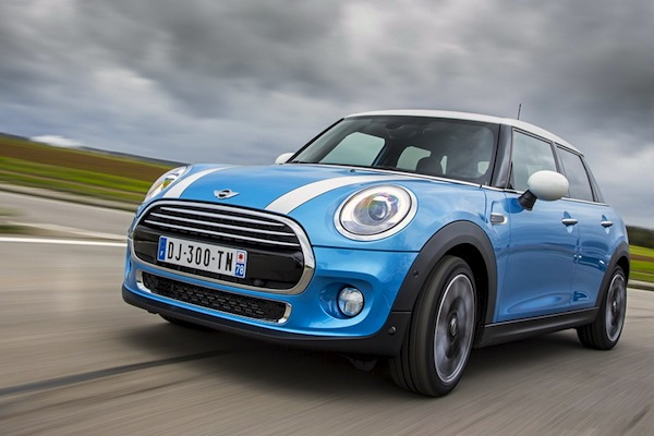 Mini UK June 2015. Picture courtesy largus.fr