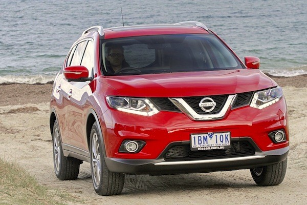 Nissan X-Trail Australia December 2014. Picture courtesy of caradvice.com.au