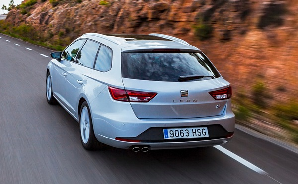 Seat Leon Germany January 2015. Picture courtesy automobile-magazine.fr