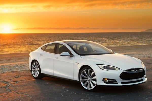 Tesla Model S Norway 2014