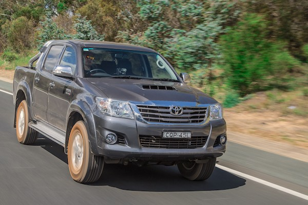 Toyota Hilux Malawi September 2015. Picture courtesy of caradvice.com.au
