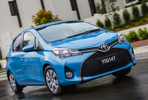 Toyota Yaris Greece 2014