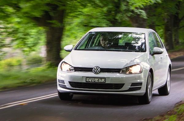 VW Golf Australia 2014. Picture courtesy caradvice.com.au
