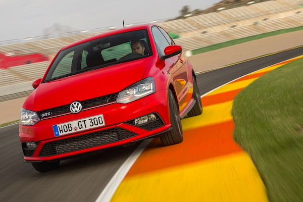 VW Polo Croatia May 2015. Picture courtesy of largus.fr
