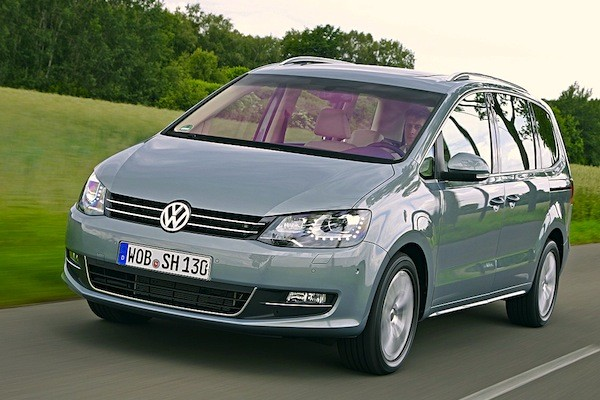 VW Sharan Austria 2014. Picture courtesy of autobild.de