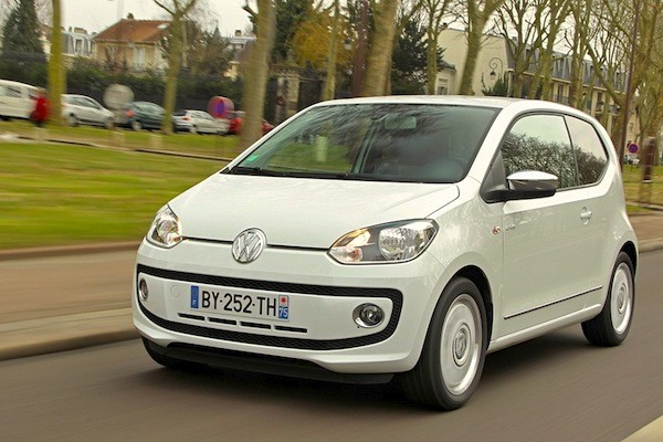 VW Up Netherlands January 2015. Picture courtesy of largus.fr