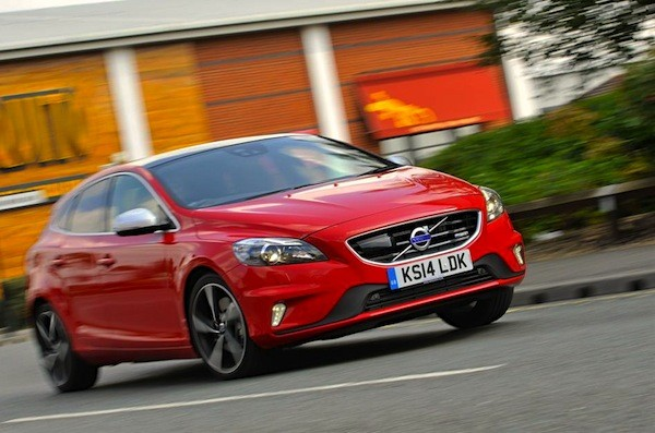 Volvo V40 Netherlands December 2014. Picture courtesy of whatcar.co.uk