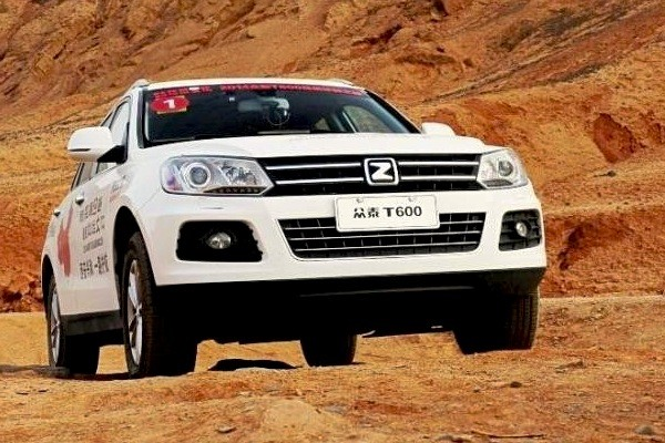 Zotye T600 China December 2014. Picture courtesy aitupian.com