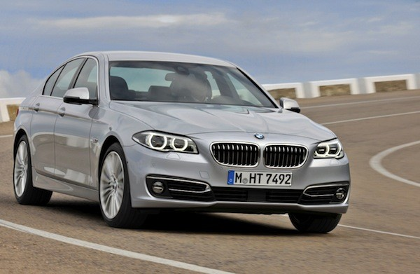 BMW 5 Series Sweden January 2015