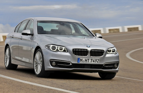 BMW 5 Series South Korea 2014