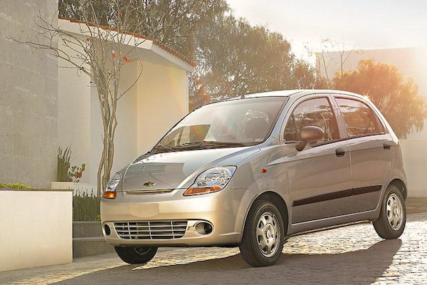Chevrolet Matiz Mexico January 2015