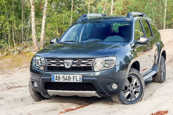 Dacia Duster Israel January 2015