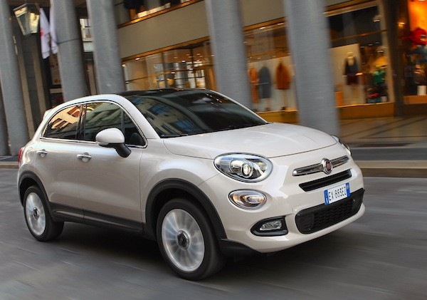Fiat 500X France January 2015. Picture courtesy largus.fr