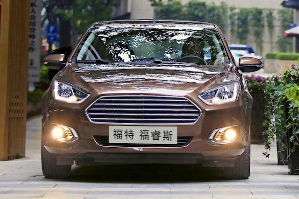 Ford Escort China January 2015
