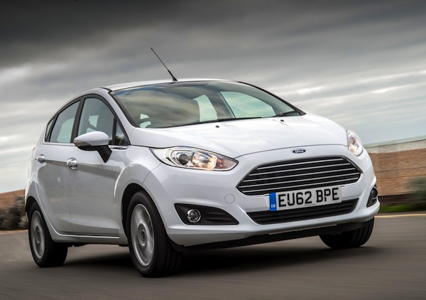 Ford Fiesta Cyprus January 2015
