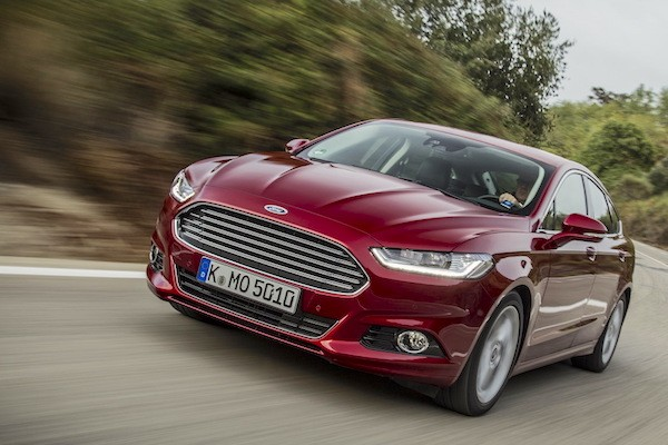 Ford Mondeo Italy December 2014. Picture courtesy largus.fr