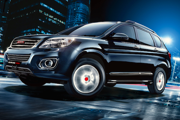 Haval H6 China January 2015