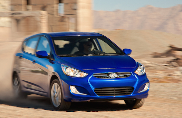 Hyundai Accent Chile January 2015. Picture courtesy motortrend.com
