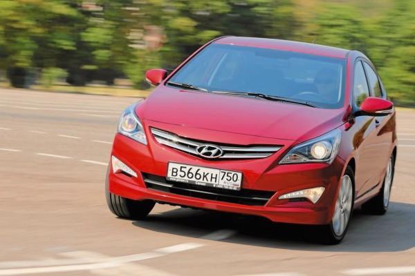 Hyundai Solaris Russia March 2015. Picture courtesy zr.ru