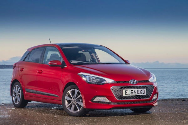 Hyundai i20 UK January 2015