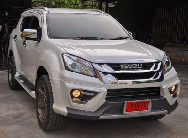 Isuzu MU-X Thailand 2014