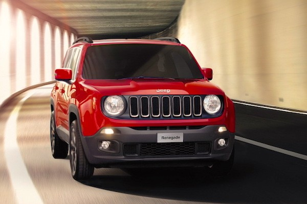 Jeep Renegade France January 2015