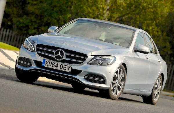 Mercedes C-Class Malaysia May 2015. Picture courtesy whatcar.co.uk