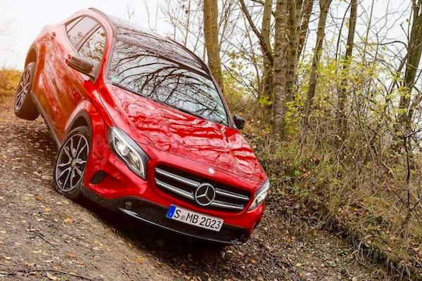 Mercedes GLA Italy 2014