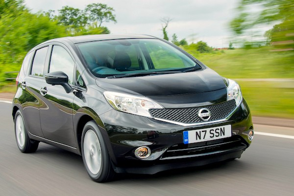 Nissan Note Ireland March 2015