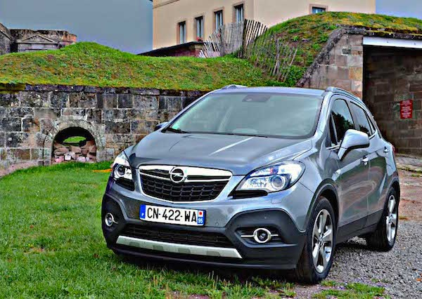 Opel Mokka Europe December 2014. Picture courtesy larevueautomobile.com
