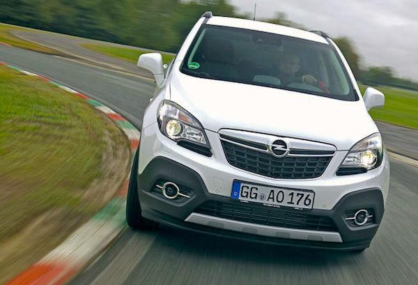 Opel Mokka Italy March 2015. Picture courtesy of autobild.de