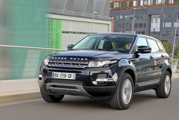 Range Rover Evoque Liechtenstein 2014. Picture courtesy largus.fr