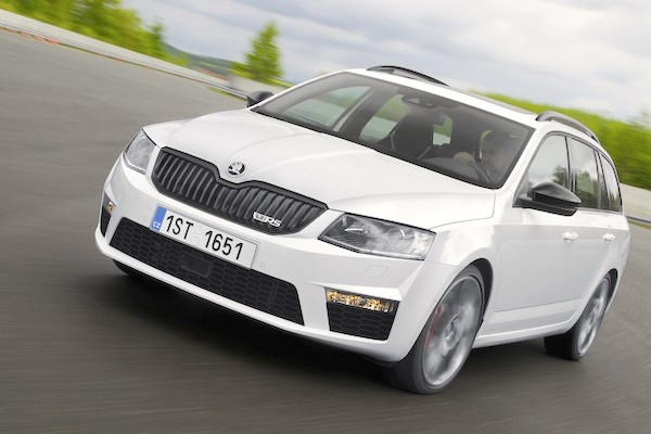 Skoda Octavia Hungary January 2015. Picture courtesy largus.fr