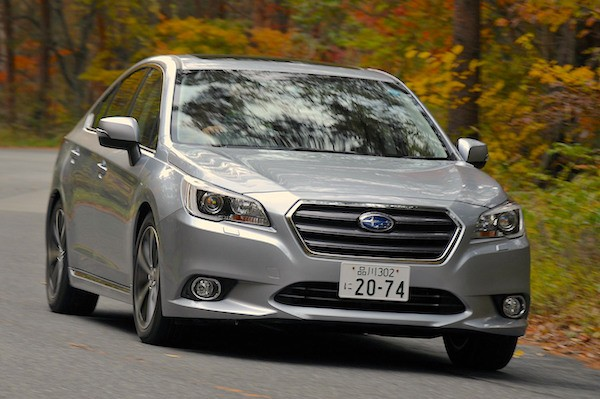 Subaru Legacy Japan January 2014. Picture courtesy of jp.autoblog.com