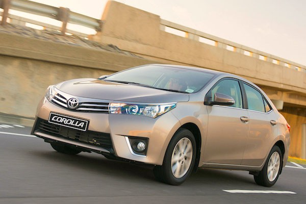Toyota Corolla South Africa January 2015