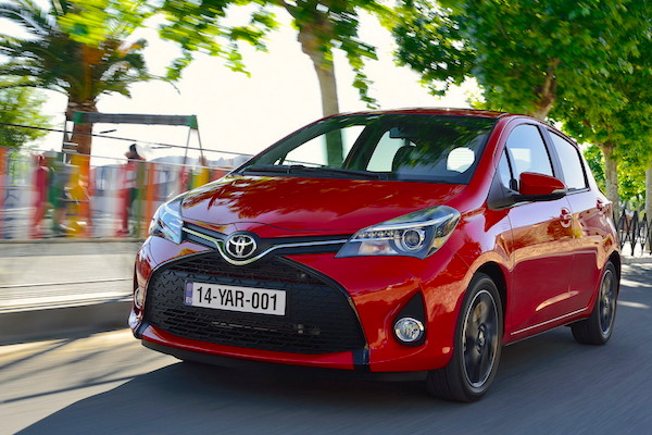 Toyota Yaris Europe January 2015. Picture courtesy largus.fr