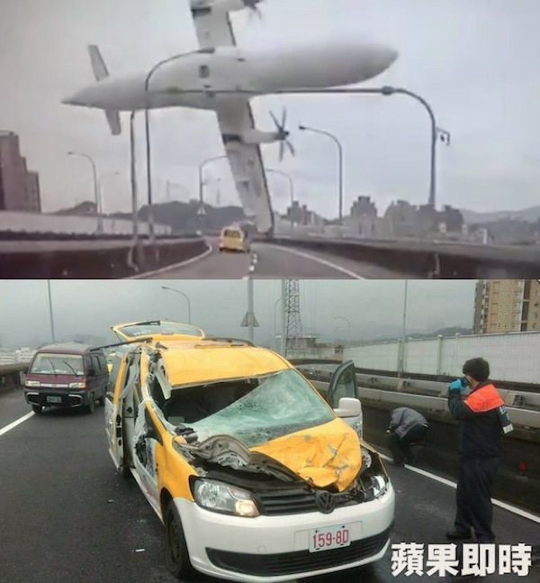Transasia Taipei crash