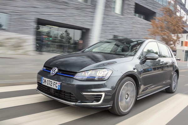 VW Golf GTE Poland March 2015. Picture courtesy largus.fr