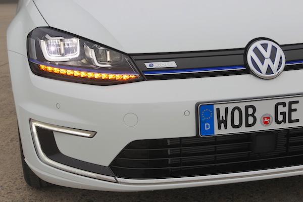 VW e-Golf Picture courtesy largus.fr