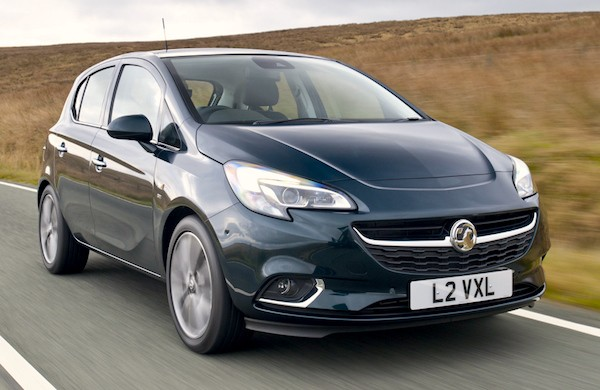Vauxhall Corsa UK January 2015