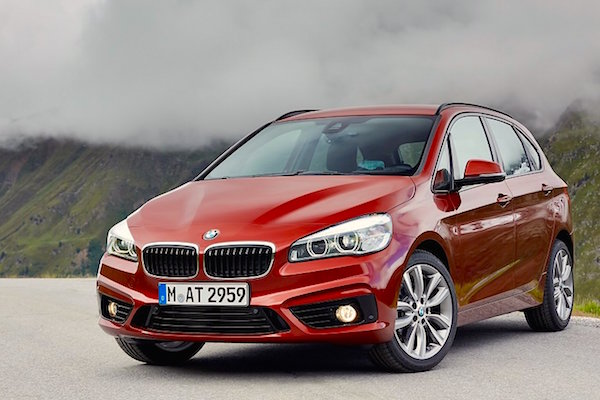 BMW 2 Series Active Tourer Italy February 2015