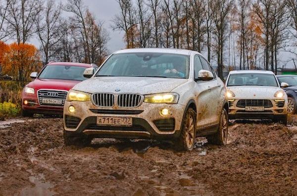 BMW X4 Russia February 2015. Picture courtesy zr.ru
