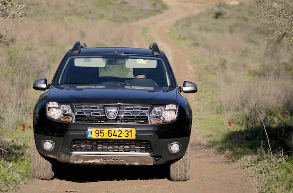 Dacia Duster Israel February 2015. Picture courtesy blogs.haaretz.co.il