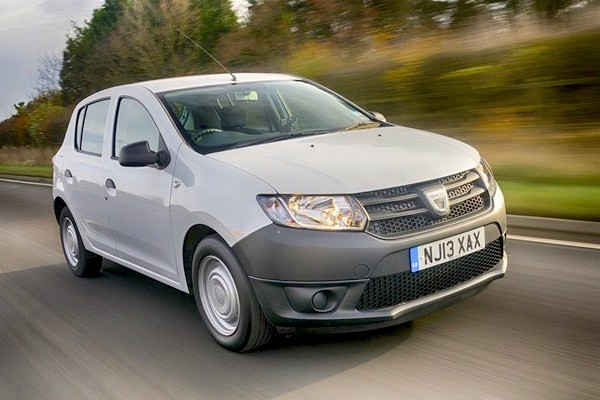 Dacia Sandero Romania August 2015. Picture courtesy honestjohn.co.uk