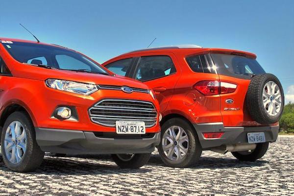 Ford Ecosport Argentina February 2015. Picture courtesy autocosmos.com