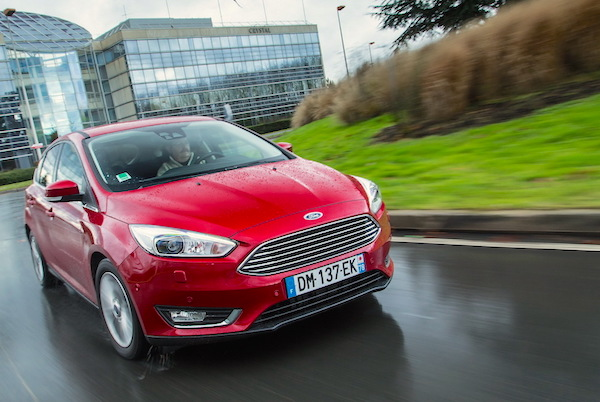 Ford Focus Poland February 2015. Picture courtesy largus.fr