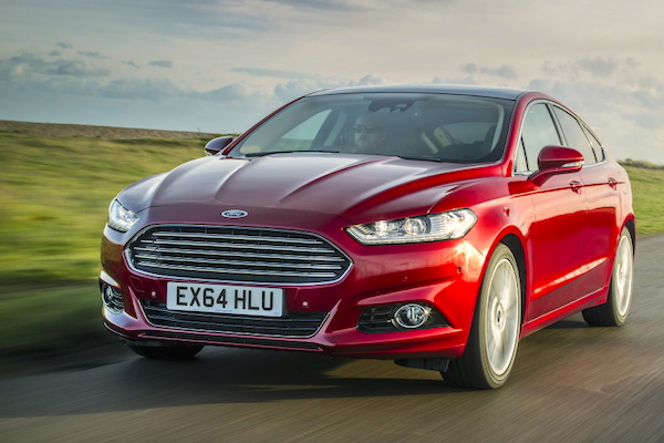 Ford Mondeo Ireland February 2015