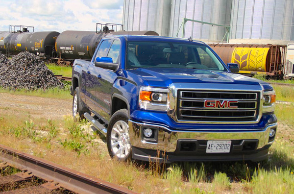 GMC Sierra Canada February 2015. Picture courtesy of autoguide.com