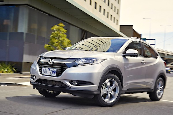 Honda HR-V Indonesia February 2015. Picture courtesy caradvice.com.au