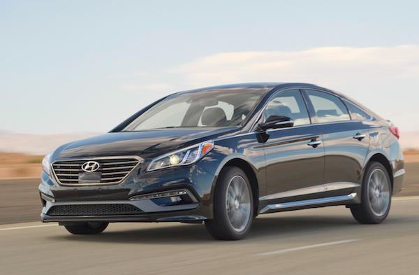 Hyundai Sonata Canada February 2015. Picture courtesy motortrend.com
